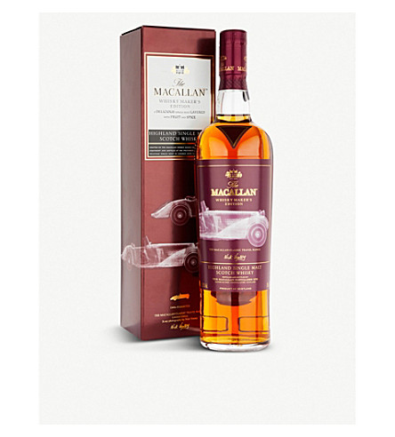 WHISKY AND BOURBON The Macallan Whisky Maker's Edition single malt Scotch whisky 700ml