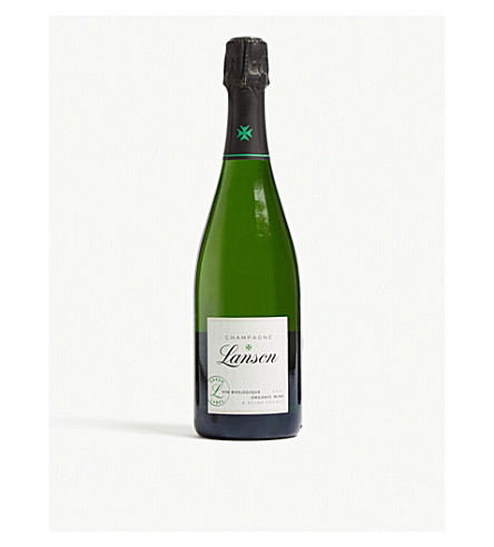 LANSON Green label organic champagne 750ml