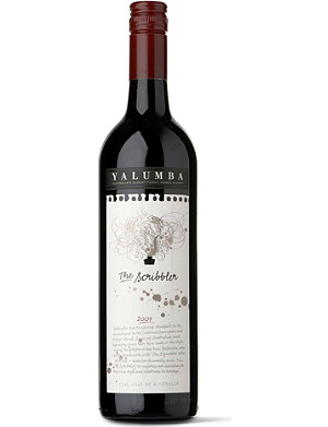 YALUMBA The Scribbler cabernet sauvignon shiraz 750ml