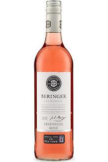 NONE Beringer Zinfandel rosé 2012 750ml