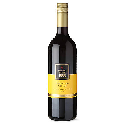 COOPERS CREEK Merlot 2012 750ml