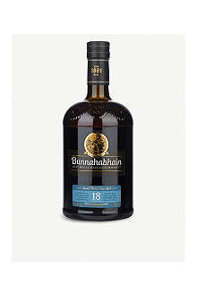 BUNNAHABHAIN 18 year old single malt Scotch whisky 700ml