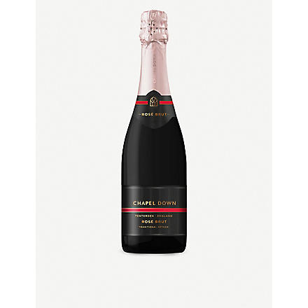 CHAPEL DOWN Rosé Brut NV 750ml