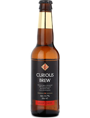 CHAPEL DOWN Curious lager brew 330ml