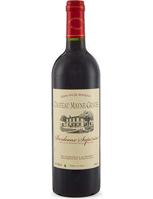 BORDEAUX Chateau Mayne-Graves 2012 750ml