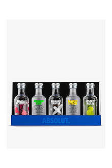 Flavoured vodka sampler gift set 5 x 50ml