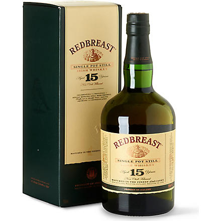 REDBREAST 15 year old single pot still 700ml