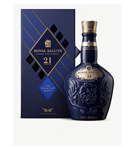 ROYAL SALUTE 21 year old Scotch whisky 700ml