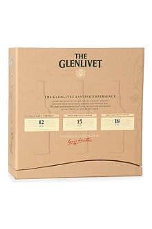 GLENLIVET Trio gift pack 3 x 200ml