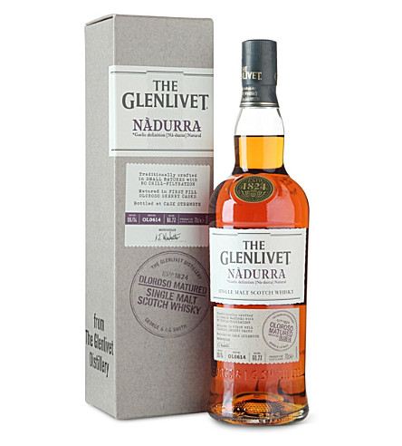 GLENLIVET Nadurra Oloroso Cask whisky 700ml