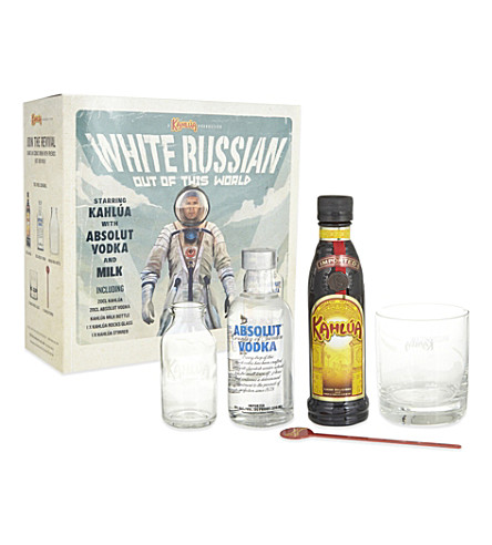 ABSOLUT White Russian gift pack 400ml