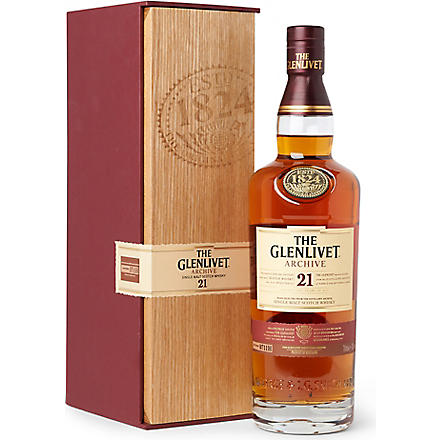 GLENLIVET Archive 21 year old single malt whisky 700ml