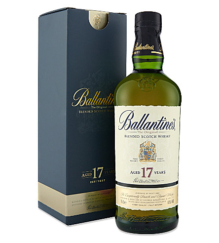 BALLANTINE'S 17 year old blended Scotch whisky 700ml