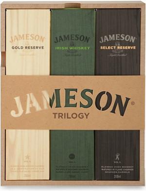 JAMESON Whisky Trilogy gift set
