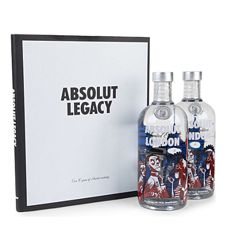 ABSOLUT Absolut London Bundle 2 x 700ml