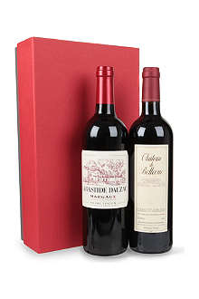 SELFRIDGES SELECTION Bordeaux wine gift box 2 x 750ml
