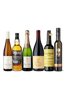 SOMMELIERS SELECTION Feast with a Twist case 4 x 750ml, 1 x 700ml, 1 x 375ml