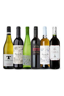 SELFRIDGES SELECTION Mixed Bag wine case 6 x 750ml