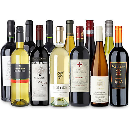 SOMMELIERS SELECTION Flavours of the World wine case 12 x 750ml