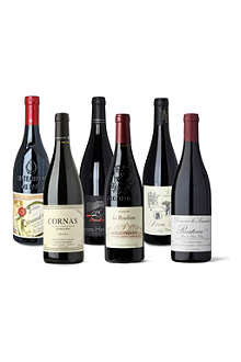 SOMMELIERS SELECTION Rhone red wines 6 x 750ml