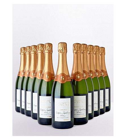 SELFRIDGES SELECTION Gusbourne Brut Reserve 2010 case 12 x 750ml