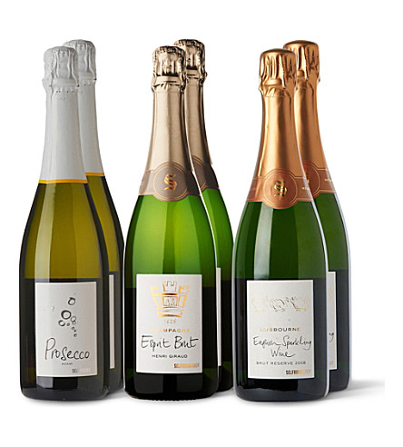 SOMMELIERS SELECTION Selfridges Sparkling Celebration case 6 x 750ml