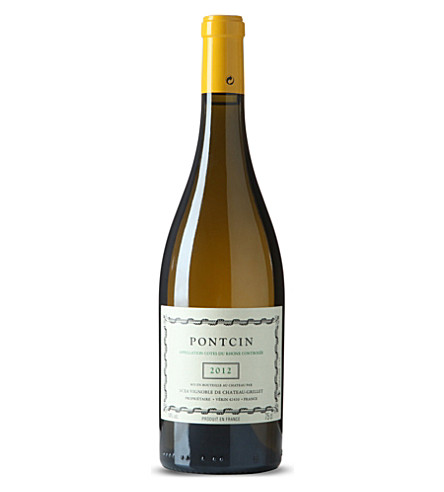 Chateau Grillet Pontcin white wine 750ml