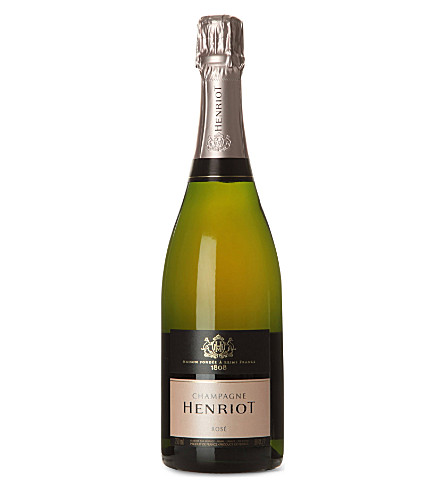 HENRIOT Brut Rosé NV giftpack 750ml