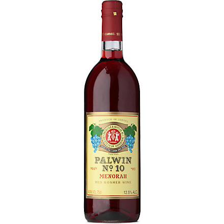 Menorah red kosher wine 750ml