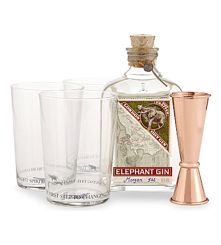 GIN Elephant gin cocktail set