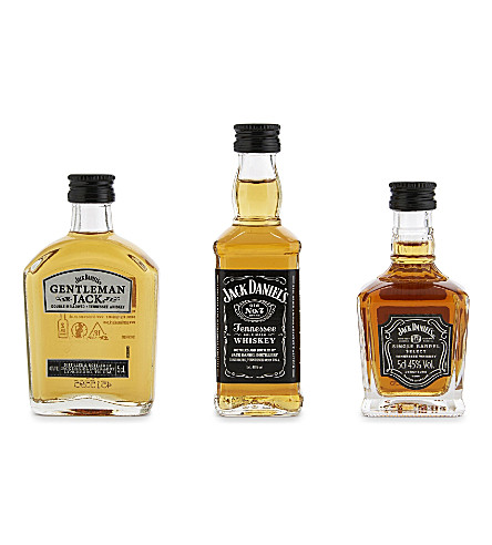 JACK DANIELS Jack Daniels whisky mini pack 3 x 50ml