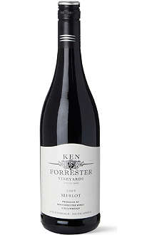 KEN FORRESTER VINEYARDS Merlot 2009 750ml