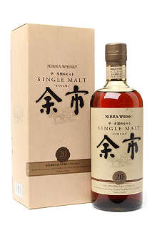 NIKKA Yoichi 20 year old single malt whisky 700ml