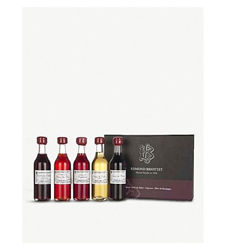 BRIOTTET Liqueur selection 5 x 50ml