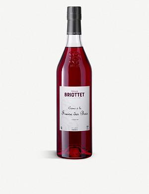 BRIOTTET Crème de Fraise liqueur 700ml