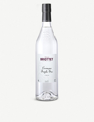 BRIOTTET Curaçao Triple Sec orange liqueur 700ml