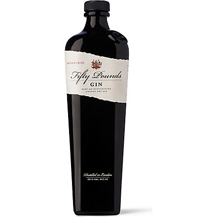 FIFTY POUNDS GIN Dry Gin 700ml
