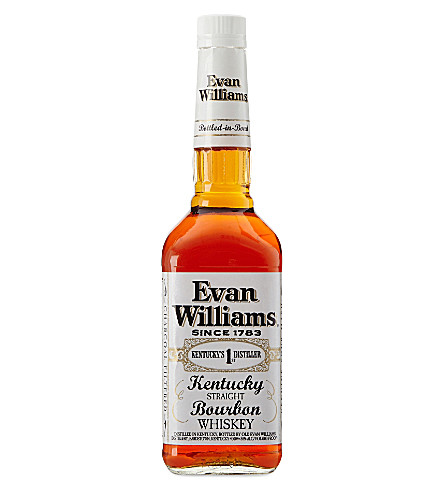 BOURBON Evan williams bottled in bond 700ml