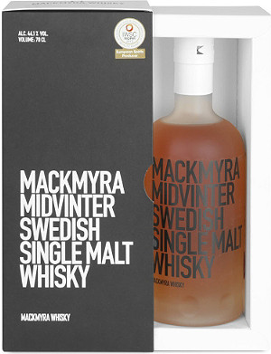 WORLD WHISKEY Midvinter Single Malt whisky 700ml