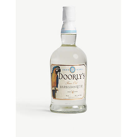 DOORLYS Barbados white rum 700ml