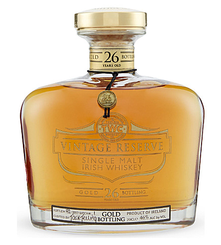 TEELING Gold Reserve 26-year-old whiskey 70cl