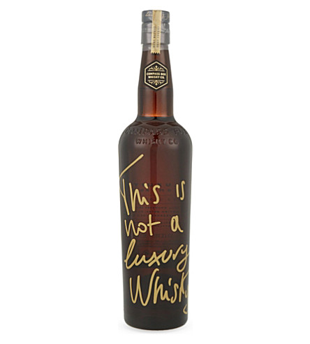 COMPASS BOX This is not a luxury whisky 700ml