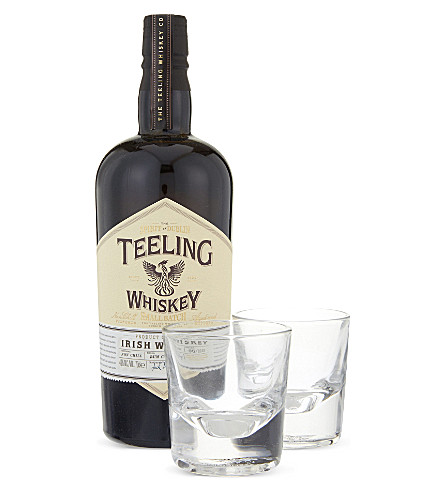 IRISH WHISKY Small Batch Irish whisky glass set 700ml