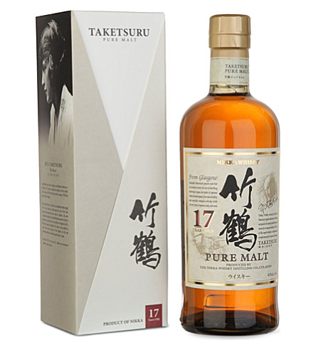 NIKKA Taketsuru 17-year-old pure malt whisky 700ml