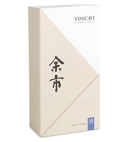 Yoichi Single Malt 10-Year-Old glass pack 700ml