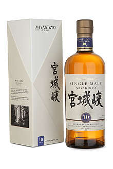 NIKKA Miyagikyo 10-year-old single malt whisky 700ml
