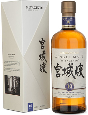 NIKKA Miyagikyo 10-year-old single malt whisky 700ml