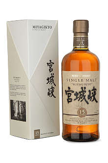 NIKKA Miyagikyo 15-year-old single malt whisky 700ml