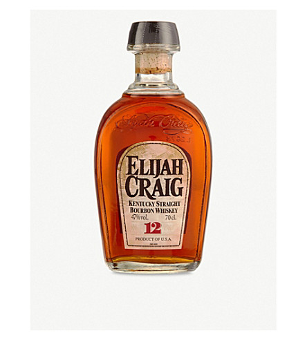 ELIJAH CRAIG Elijah Craig Kentucky Straight Bourbon Whisky 700ml
