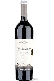 TORRES Cordillera Carinena Shiraz 750ml